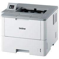 ブラザー A4モノクロレーザープリンター 50PPM/両面印刷/有線・無線LAN HL-L6400DW 1台  (直送品)