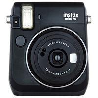 富士フイルム インスタントカメラ instax mini 70 ブラック INS MINI 70 BLACK 1台  (直送品)