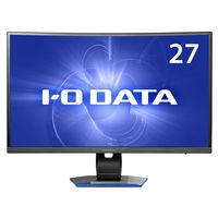 アイ・オー・データ機器 「5年保証」フルHD対応 27型湾曲パネル搭載ゲーミング液晶ディスプレイ LCD-GC271XCVB 1台  (直送品)