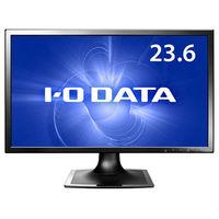 アイ・オー・データ機器 5年保証 23.6型ワイド液晶ディスプレイ ブラック LCD-MF244XB 1台  (直送品)