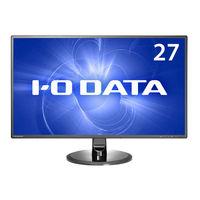 アイ・オー・データ機器 「5年保証」超解像技術&広視野角ADSパネル採用 27型ワイド液晶ディスプレイ LCD-MF277XDB 1台  (直送品)