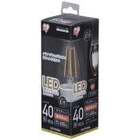アイリスオーヤマ LEDフィラメント電球 E17 40形相当 電球色 非調光クリア LDC3L-G-E17-FC 1個  (直送品)
