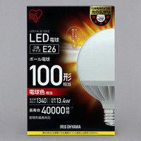 アイリスオーヤマ LEDボール球 100形相当 電球色 LDG14L-G-10V3 1個  (直送品)