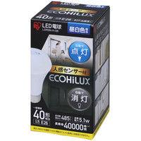 アイリスオーヤマ LED電球 人感センサー付 E26 40形相当 昼白色 LDR5N-H-S6 1個  (直送品)