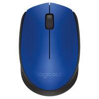 ロジクール(Logicool) 無線(ワイヤレス)マウス ブルー 光学式/3ボタン/2年保証 M171BL(直送品)