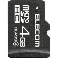 エレコム microSDHCカード/Class4/4GB/法人専用 MF-MSD004GC4/H 1個  (直送品)