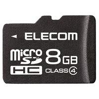 エレコム microSDHCカード/Class4/8GB/法人専用/簡易パッケージ MF-MSD008GC4/H 1個  (直送品)