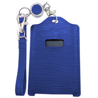 ユニーク 電子マネーカード専用残高表示機能付きパスケースmiruca(ミルカ&ミルカプラス)専用レザーカバー ブルー MIRUCALCBL 1個  (直送品)