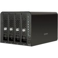 エレコム Linux搭載NAS/4Bay/8TB NSR-6S8T4BLB 1台  (直送品)
