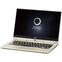 NECパーソナルコンピュータ LAVIE Hybrid ZERO ー HZ750/GAG プレシャスゴールド PC-HZ750GAG 1台  (直送品)