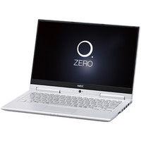 NECパーソナルコンピュータ LAVIE Hybrid ZERO ー HZ750/GAS ムーンシルバー PC-HZ750GAS 1台  (直送品)