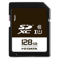 アイ・オー・データ機器 UHS スピードクラス1対応 SDXCメモリーカード 128GB SDU1-128G 1個  (直送品)