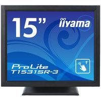 iiyama 15型液晶ディスプレイ ProLite T1531SRー3 (抵抗膜方式タッチパネル) マーベルブラック T1531SR-B3 1台  (直送品)