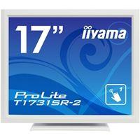 iiyama 17型液晶ディスプレイ ProLite T1731SRー2 (抵抗膜方式タッチパネル) ピュアホワイト T1731SR-W2 1台  (直送品)