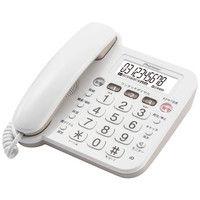 パイオニア 留守番テレホン ホワイト TF-V75(W) 1個  (直送品)