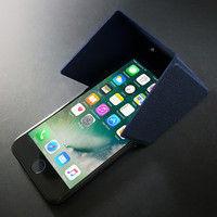 ユニーク 3WAYスマートユーティリティ iShadePRO for iPhone 7 ネイビーブルー UMS-ISP01NA 1個  (直送品)