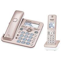 パナソニック コードレス電話機(子機1台付き)(ピンクゴールド) VE-GD55DL-N 1台  (直送品)