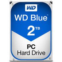 WD Blueシリーズ 3.5インチ内蔵HDD 2TB SATA3(6Gb/s) 5400rpm 64MB WD20EZRZ-RT  (直送品)