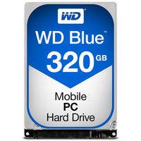 WD Blueシリーズ 2.5インチ内蔵HDD 320GB SATA 5400rpm 7mm厚 WD3200LPCX  (直送品)