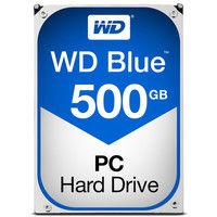 WD Blueシリーズ 3.5インチ内蔵HDD 500GB SATA3(6Gb/s) 5400rpm 64MB WD5000AZRZ-RT  (直送品)