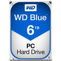 WD Blueシリーズ 3.5インチ内蔵HDD 6TB SATA3(6Gb/s) 5400rpm 64MB WD60EZRZ-RT  (直送品)
