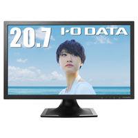 アイ・オー・データ機器 5年保証 20.7型ワイド液晶ディスプレイ ブラック LCD-MF211XB 1台  (直送品)