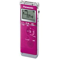 パナソニック ICレコーダー (ピンク) RR-XS360-P 1台  (直送品)