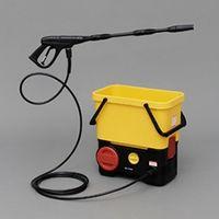 アイリスオーヤマ タンク式高圧洗浄機 充電タイプ イエロー/ブラック SDT-L01 1個  (直送品)