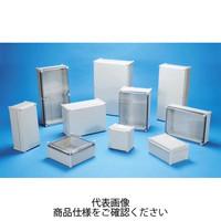 BCAL型防水・防塵プラボックス カバー/ホワイトグレー・ボディー/ホワイトグレー BCAL282813G 1台 (直送品)
