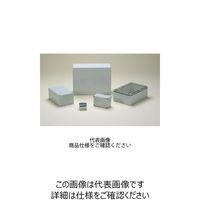 DPCP型防水・防塵ポリカーボネートボックス カバー/ホワイトグレー・ボディー/ホワイトグレー DPCP121209G 1台 (直送品)