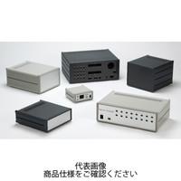 MS型メタルシステムケース パネル/シルバー 上下カバー/ライトグレー サイドフレーム/グレー MS222-16-23G 1台(直送品)
