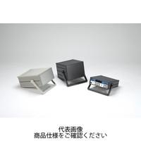 MSN型ステップハンドル付システムケース パネル/シルバー 上下カバー/ブラック サイドフレーム/ブラック MSN66-32-35BS 1台(直送品)