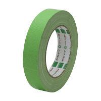 オカモト 布テープ養生用 24mm×25m 若草 YJ-02 60巻(直送品)