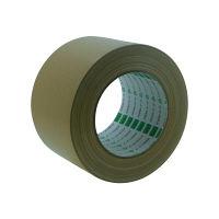 オカモト 布テープ養生用 75mm×25m クリーム 117 18巻(直送品)