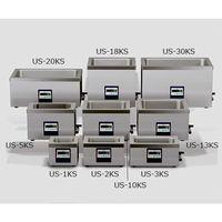 エスエヌディ(SND) 超音波洗浄機 213×137×100mm 卓上強力型 KSシリーズ US-1KS 1式 61-0083-72 (直送品)