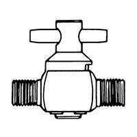 2-way valve 1/4×1/4in. NPTM 1/Pk 1ST XX2604702 61-0196-79 (直送品)
