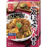 丸美屋 おうち食堂 こんにゃくのピリ辛煮の素 箱 140g 1セット(5個)