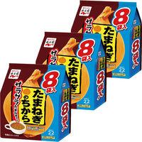 永谷園 たまねぎのちから サラサラたまねぎスープ 1セット 3個(8食入×3個)