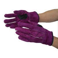 ケイワーク 紫内綿革手 紫 フリー NO446 (取寄品)