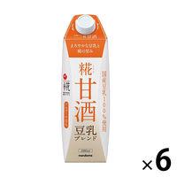 マルコメ マルコメ プラス糀 糀甘酒 豆乳 1000ml 1箱(6本)