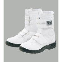 寅壱 安全靴(長マジック) 白 260 74-961-15-260(取寄品)