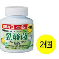 オリヒロ オリヒロ MOSTチュアブル 乳酸菌 1セット(180粒×2個) サプリメント