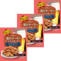 菊屋株式会社 贅沢チーズの大人スナック 明太子チーズ味 1セット(12袋)