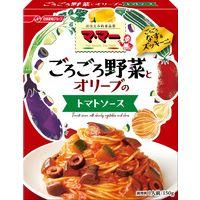 マ・マー ごろごろ野菜のパスタソース なすとズッキーニのトマトソース(150g)