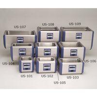 エスエヌディ(SND) 超音波洗浄機 381×230×249mm 卓上標準型 100シリーズ US-104 1式 61-0083-84 (直送品)
