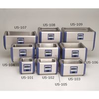 エスエヌディ(SND) 超音波洗浄機 584×381×369mm 卓上標準型 100シリーズ US-109 1式 61-0083-89 (直送品)