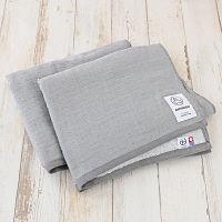 ガーゼバスタオル LOHACO lifestyle towel グレー バスルーム 約60cm×100cm 2枚 今治タオル