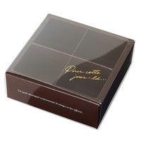 ヘッズ ショコラブラウンスリーブBOX-4 CHB-SB4 1セット(100枚:10枚×10パック)(直送品)
