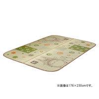 イケヒコ 純国産 となりのトトロ い草ラグ 『和ごころ』 約176×230cm 1枚