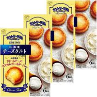 不二家 カントリーマアムべイクショップ(北海道チーズタルト) 1セット(3箱入)